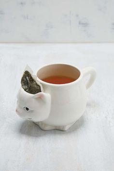 Kitty Tea Mug - Urban Outfitters