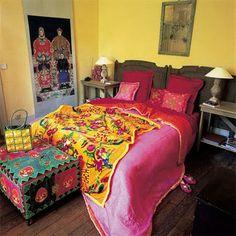 Moon to Moon: Bright Boho Bedrooms