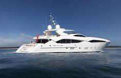 ASunseeker Yachts começou a trabalhar com a marca alemã de equipamentos Hansgrohe para que o interi