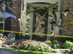 garage door halloween decorating ideas |