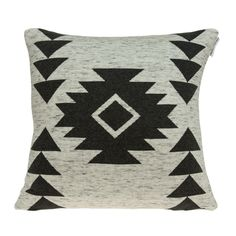 Parkland Collection Arika Southwest Tan Pillow Cover With Down Insert, Multicolor(Cotton, Solid Color)