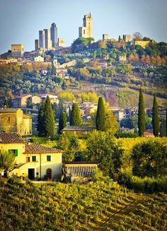 .San Gimignano, Province of Siena, Tuscany, Italy