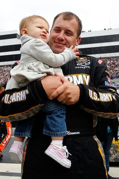 Ryan Newman and his daughter Brooklyn