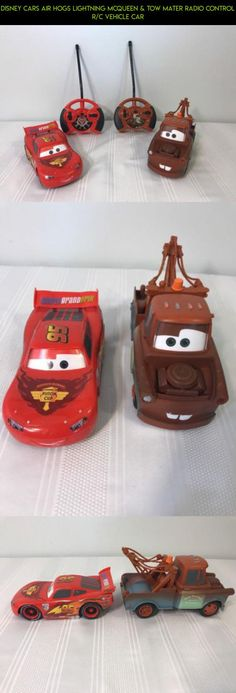DISNEY CARS AIR HOGS LIGHTNING MCQUEEN & TOW MATER RADIO CONTROL R/C VEHICLE CAR #drone #gadgets #tech #fpv #camera #lightning #hogs #kit #mcqueen #plans #racing #shopping #air #technology #products #parts