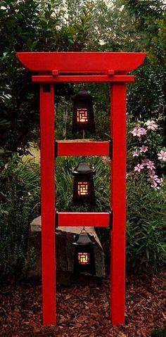 Garden Yard Ideas, Garden Projects, Garden Art, Japanese Pergola, Japanese Garden Design, Home Landscaping, Front Yard Landscaping, Bamboo Trellis, Outdoor Projects