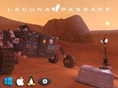 Lacuna Passage: Mars Exploration and Survival by Random Seed Games — Kickstarter