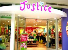 justice for girls. Gonna let Reagan have a little shopping spree :). This is her favorite store
