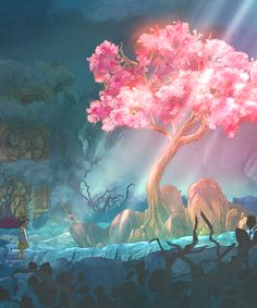 Child of Light.  This is an in-game screenshot.  Isn't it so pretty?