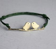 lovebirds bracelet