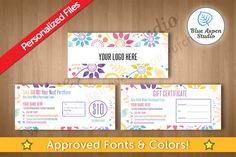 LuLaRoe Gift Certificates in Floral 107 by Blue Aspen Studio