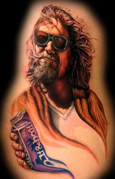 12 Bad Ass Big Lebowski Tattoos Gallery: Lebowski Tattoos: The Dude Picture | Break.com