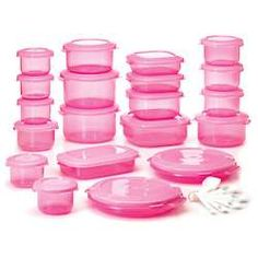 In love with these pink Tupperware! #tupperware #homeandkitchen #iShopAtHome