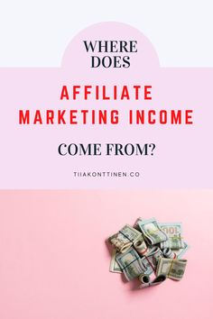 "I receive a question from my readers almost weekly asking: ""Where does affiliate marketing income come from? I don't understand how you can make that much money every month with affiliate marketing... Blogging Coach Tiia Konttinen reveals her tips how to make money through affiliate marketing. #bloggingtools #makemoney #blogging #affiliate #affiliatemarketing Make Money Blogging, Make Money From Home, Way To Make Money, Make Money Online, Email Marketing Strategy, Affiliate Marketing, How To Start A Blog, How To Make, Online Entrepreneur"