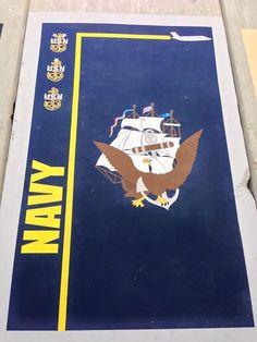Qatar - CAOC Navy Veteran, Anchors, Patches, Anchor