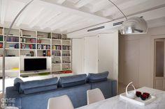 Spazio guadagnato per la casa di 63 mq on pinterest for Mobile divisorio soggiorno