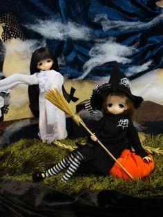 Happy Halloween! Праздник для малышек mamachapp / Куклы Аниме / Бэйбики. Куклы фото. Одежда для кукол