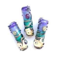 Depths - Lampwork Glass Bead Set