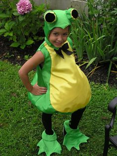 Frog Costume. $60.00, via Etsy.