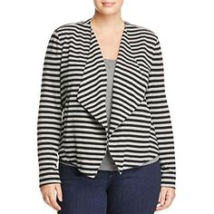 """Product review for Tart Womens Plus Veronicka Stretch Striped Blazer.  - This Tart Blazer is guaranteed authentic. It's crafted with 45%Rayon/ 40%Modal/ 15%Spandex.       Famous Words of Inspiration...""""Love's greatest gift is its ability to make everything it touches sacred.""""   Barbara de Angelis — Click..."""