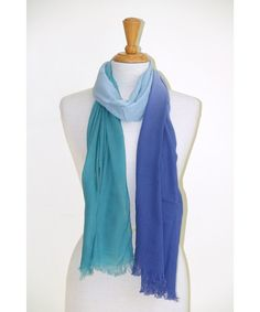COTTON/MODAL OMBRE SCARF Cotton, Fashion, Moda, Fashion Styles, Fashion Illustrations