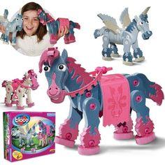 Chevaux & licornes de Bloco Modèle: BC-25006  http://411buyitnow.com/fr/jeux-jouets/jouets/jeux-de-casse-tetes/chevaux-licornes-bc-25006-de-bloco.html