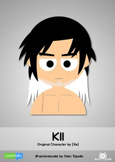 """KII"", original character by [.Re]. #VectorDoodle by Glen Tripollo"