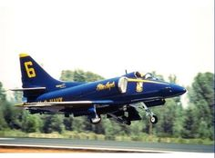 Blue Angels receiving their first A-4 Skyhawk on this date in 1973!