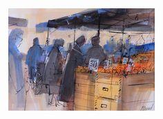 Fruit Market.jpg, mike bernard