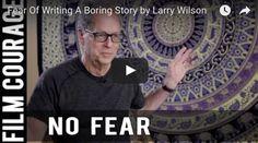 Fear Of Writing A Boring Story by Larry Wilson via FilmCourage.com. #Beetlejuice #writing #screenwriting #writingtips