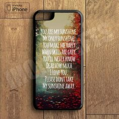 You're My Sunshine Plastic Phone Case For iPhone 6 Plus More Style For iPhone 6/5/5s/5c/4/4s