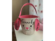 This personalized Easter Basket makes the perfect Easter gift for babies, toddlers, and preschoolers. Were you looking for Easter basket ideas? Well now you've found it! Non Toy Gifts, Baby Gifts, Easter Gift, Happy Easter, Easter Specials, Thing 1, Happy Words, Toddler Gifts, Egg Hunt