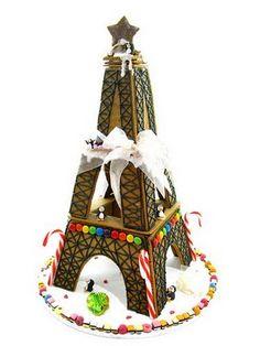 Gingerbread Eiffel Tower!