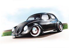 Volkswagen Beetle by Marchiori Luca