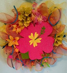 Hey, I found this really awesome Etsy listing at https://www.etsy.com/listing/232580997/hibicus-heaven-wreath