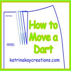 Find out how to move a dart to a position that's suitable for your curves in this video tutorial. This method can also be used to move a bust dart.