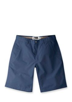 Mountain Khakis Navy Mens Poplin Short Slim Fit