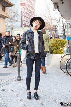 SUPER CUTE ... Saki, 23 years old, beauty salon employee | 7 February 2015 | #Fashion #Harajuku (原宿) #Shibuya (渋谷) #Tokyo (東京) #Japan (日本)