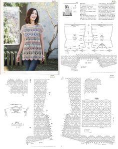 Crochet Lacy Vest