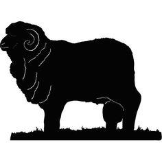 Résultats de recherche d'images pour «merino sheep silhouette»