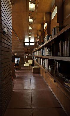 Rosenbaum House. 1940 and an addition in 1948. Frank Lloyd Wright Usonian Style. Florence, Alabama.