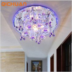 Modern 18cm 9W Crystal LED Ceiling lights Aisle/Stairs lights chandeliers 1521HC