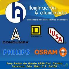 Distribuidora de materiale eléctrico e iluminación. Fray Pedro de Gante #320, Col Centro Texcoco, Edo. de Mex. C.P . 56100. http://negocilibre.com/directorio/iluminacion-alumbrado/