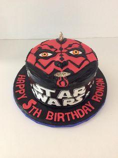 Darth Maul   Star Wars  Gallery   Sugar Divas Cakery   Orlando   Cupcakes   Custom Cakes  Www.sugardivascakery.com
