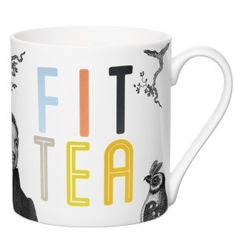 Fit TEA Bone China Mug