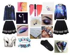 """""""Galaxy&Star Couple"""" by nuitfleur on Polyvore featuring Caparros, HVBAO, Witchery, Dainty Edge and Bish Bosh Becca"""