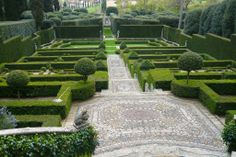 Villa I Tatti garden by Cecil Pinsent. I don't particularly love this garden, but it is a great example of how grand a monochromatic garden can be.