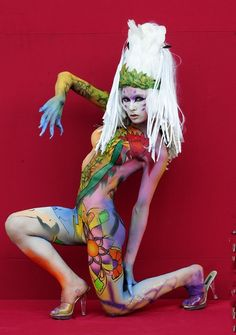 World Body Painting Festival Asia at World Cup Stadium