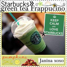 """Starbucks green tea frappucino ♥"" by thebestcookbook on Polyvore"