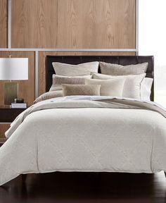 hotel collection pebble diamond beige cotton king duvet comforter cover 420