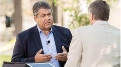 Sigmar Gabriel im Sommerinterview mit ZDF-Redakteur Thomas Walde, das am vergangenen Sonntag ausgestrahlt wurde